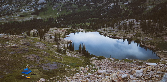 Garrett Lockhart photography Cecret lake
