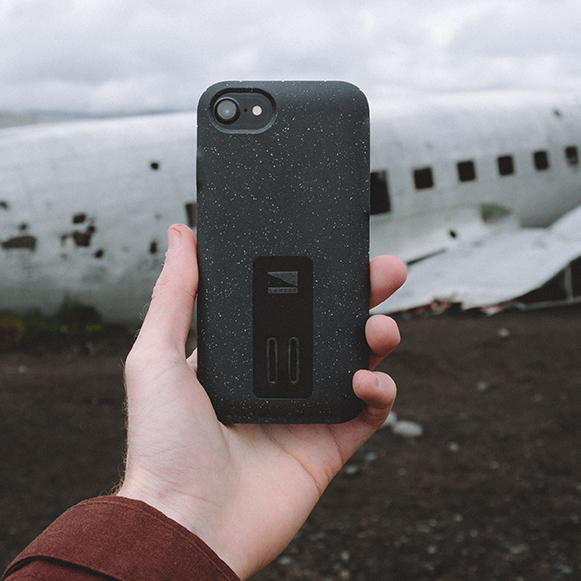 Moab case for iPhone 6/6s/7/8 with beat up airplane