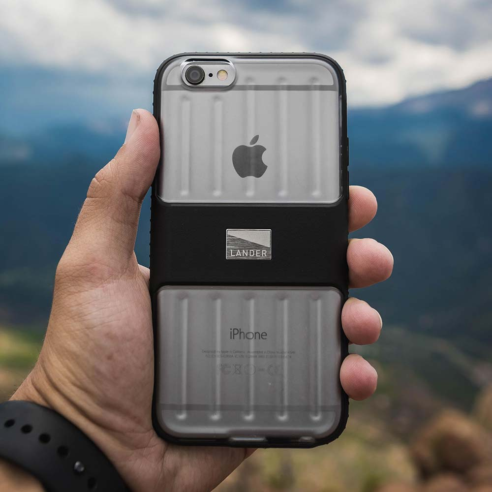 Lander Powell Case for iPhone 6/6s strait on shot