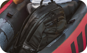 Backpacks for the boat