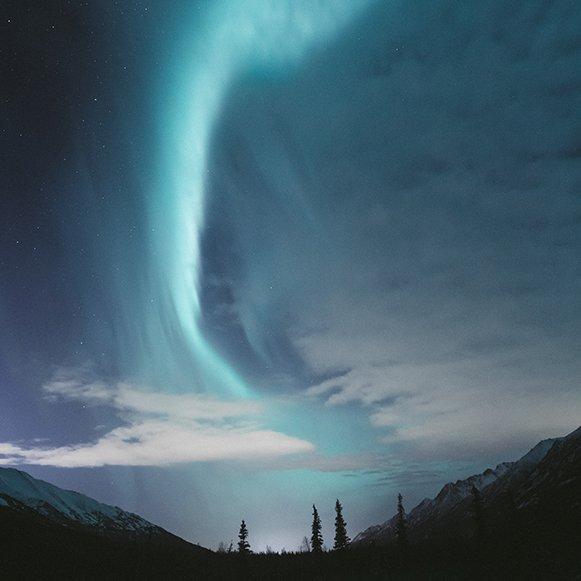 HB Mertz photography Aurora Borealis