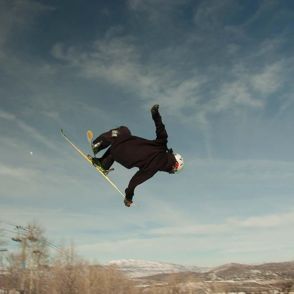 Ian Burson photography park city skiing
