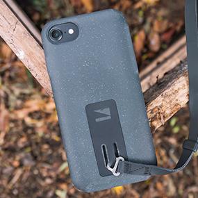 Lander Moab case for iPhone 7/8 Plus on wood