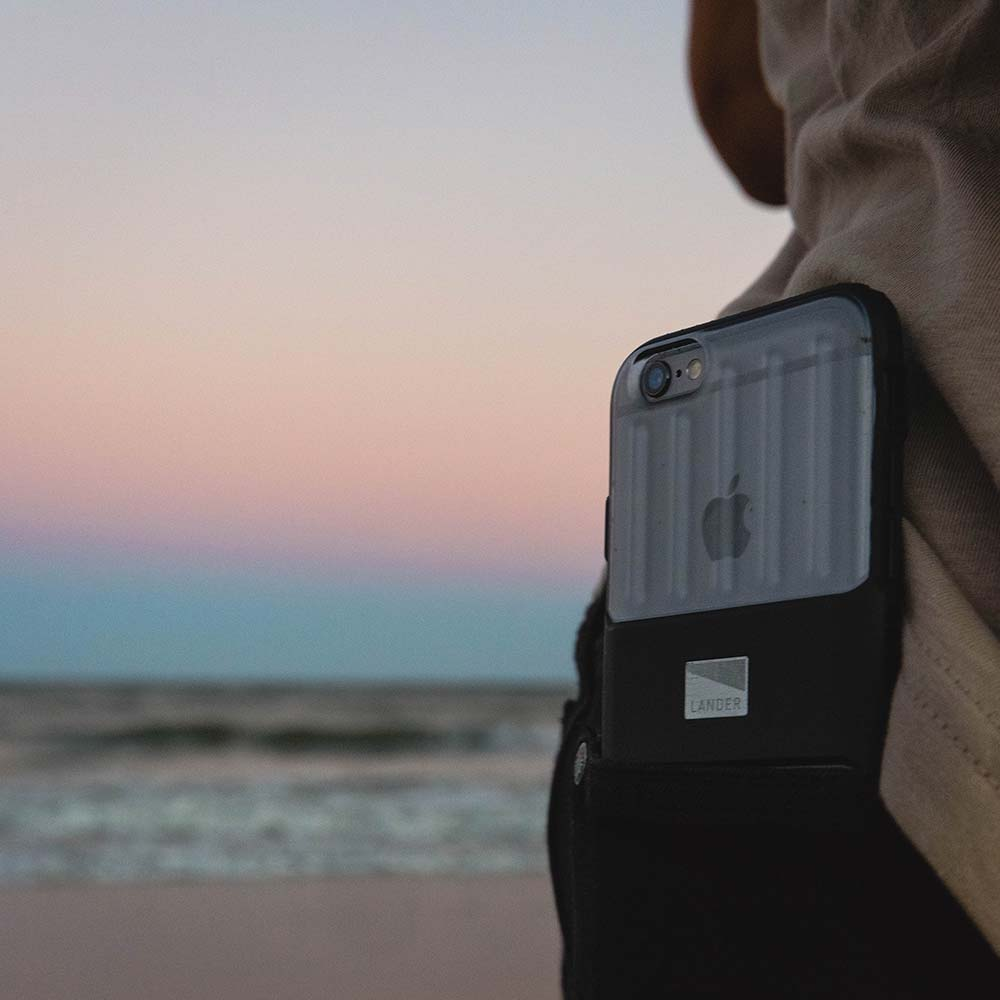 Lander Powell Case for iPhone 6/6s on the beach sunset